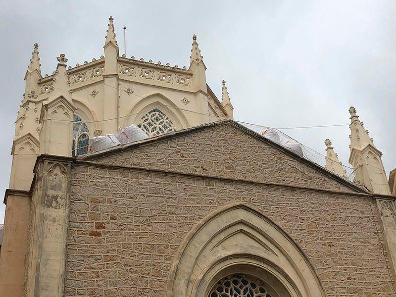 tejados parroquia benissa
